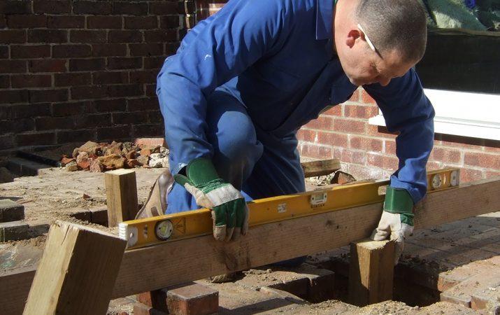 Holzterasse bauen
