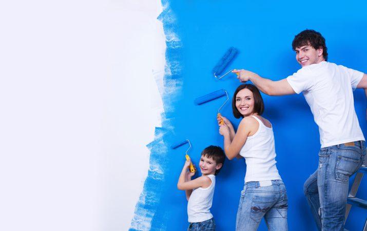 Farben, Lacke, Lasuren – alles, was das Heimwerkerherz begehrt