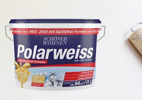 Schönen Wohnen Polarweiss 11 L